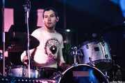Dave Rahn, baterista de Gentleman Jesse (Purple Weekend Festival, León, 2012)