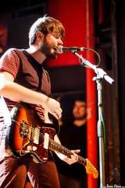 Asier Goikoetxea, guitarrista y cantante de Señores, Kafe Antzokia, Bilbao. 2013