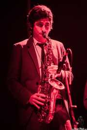 Marc Lloret, saxofonista de The Excitements, Kafe Antzokia, 2013