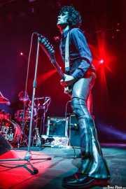 Russell Simins -batería- y Jon Spencer -voz,guitarra y theremin- de The Jon Spencer Blues Explosion, Kafe Antzokia, Bilbao. 2013