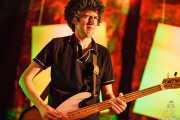 Iñigo Cabezafuego, bajista de Los Separatistas, Bizkaia Aretoa - UPV/EHU, Bilbao. 2013