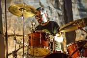 Mikel Abrego, baterista de Los Separatistas, Bizkaia Aretoa - UPV/EHU, Bilbao. 2013