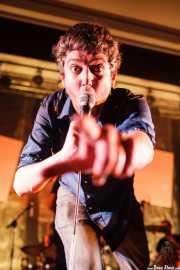 Dan Wilson, cantante de Los Separatistas, Bizkaia Aretoa - UPV/EHU, Bilbao. 2013