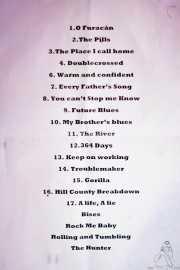 018 Dixie Town 29IV13 setlist