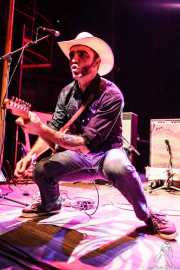 David Krahe, guitarrista de Los Coronas, Kafe Antzokia, Bilbao. 2013