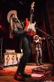 Fernando Pardo -guitarra- y Yevhen Riechkalov -trompeta- de Los Coronas, Kafe Antzokia, Bilbao. 2013