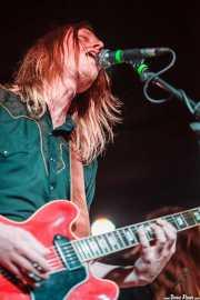 Joakim Nilsson, guitarrista y cantante de Graveyard (18/05/2013)