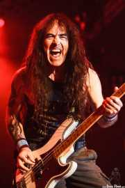 Steve Harris, bajista de Iron Maiden, Bilbao Exhibition Centre -BEC-, 2013