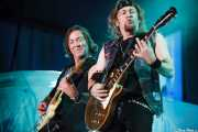 Dave Murray y Adrian Smith, guitarristas de Iron Maiden, Bilbao Exhibition Centre -BEC-, 2013