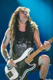 Steve Harris, bajista de Iron Maiden, Bilbao Exhibition Centre -BEC-, 2013