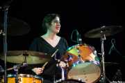 Virginia Fernández, baterista de Last Fair Deal