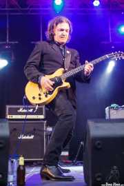 Dom Mariani, cantante y guitarrista de DM3 (Andoaingo Rock Jaialdia, Andoain, 2013)