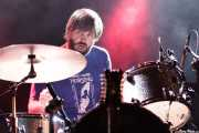 Paulie Cobra,baterista de The See See (Andoaingo Rock Jaialdia, Andoain, 2013)