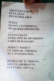 Setlist de Nuevo Catecismo Católico (Kafe Antzokia, Bilbao, 2013)