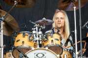 Bjorn Mendizabal, baterista de Quaoar, Vitoria-Gasteiz. 2013