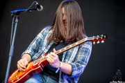 Hugo Landaluce, guitarrista de Quaoar, Vitoria-Gasteiz. 2013