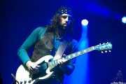 Leot Hanson, guitarrista de The Sheepdogs, Azkena Rock Festival, Vitoria-Gasteiz. 2013