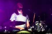 Sam Corbett, baterista de The Sheepdogs, Azkena Rock Festival, Vitoria-Gasteiz. 2013