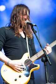 "Kevin ""K.R."" Starrs, cantante, guitarrista de Uncle Acid and the Deadbeats (Azkena Rock Festival, Vitoria-Gasteiz, 2013)"