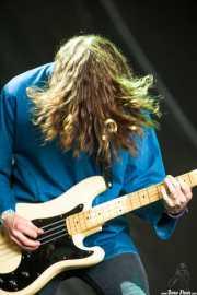 Dean millar, bajista de Uncle Acid and the Deadbeats (Azkena Rock Festival, Vitoria-Gasteiz, 2013)