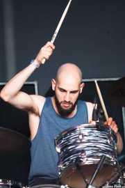 Itamar Rubinger, baterista de Uncle Acid and the Deadbeats (Azkena Rock Festival, Vitoria-Gasteiz, 2013)