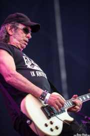 Manolo Benítez, guitarrista de Los Enemigos, Azkena Rock Festival, 2013
