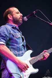 Josele Santiago, guitarrista y cantante de Los Enemigos, Azkena Rock Festival, 2013