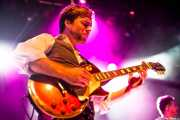 Dylan Fitch, guitarrista de The Delta Saints, Kafe Antzokia, Bilbao. 2013