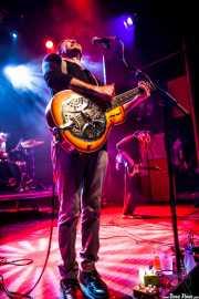 Ben Ringel -voz y guitarra- y David Supica -bajo- de The Delta Saints, Kafe Antzokia, Bilbao. 2013