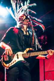 David Supica, bajista de The Delta Saints, Kafe Antzokia, Bilbao. 2013