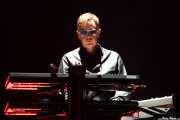 Andy Fletcher, teclista de Depeche Mode (Bilbao BBK Live, Bilbao, 2013)
