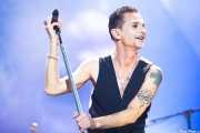 Dave Gahan, cantante de Depeche Mode (Bilbao BBK Live, Bilbao, 2013)
