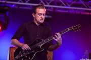Steven Janssens, guitarrista de Mark Lanegan Band, Bilbao BBK Live, Bilbao. 2013