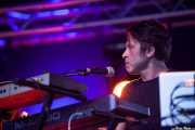 Aldo Struyf, teclista y guitarrista de Mark Lanegan Band, Bilbao BBK Live, Bilbao. 2013