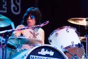 Marky Ramone, baterista de Marky Ramone's Blitzkrieg (Kafe Antzokia, Bilbao, 2013)