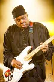 Ricky Rouse, guitarrista de George Clinton's Parliament Funkadelic, Stade Aguiléra. 2013