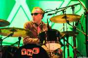 "Duncan ""The Amazing Mr. Duncan"" Redmonds, baterista de The Toy Dolls, Bilbao. 2013"