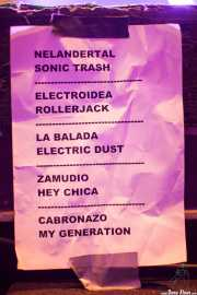 033 WOP Festival 2013 Sonic Trash 11X13 setlist