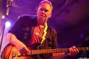 Lightning Malcolm, bajista de North Mississippi Allstars, Santana 27, Bilbao. 2013