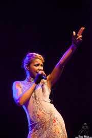 Alice Francis, cantante, Sala BBK, Bilbao. 2013