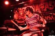 El Grasas, baterista de La moto de Fernan (Funtastic Dracula Carnival, Benidorm, 2013)