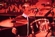 "Chris Rosales ""Gringo Starr"", baterista de The Jackets (Funtastic Dracula Carnival, Benidorm, 2013)"