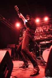 """Jackie Brutsche """"Jack Torera"""", cantante y guitarrista de The Jackets (Funtastic Dracula Carnival, Benidorm, 2013)"""