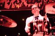 Ravi Low-Beer, baterista de MFC Chicken, Funtastic Dracula Carnival, Benidorm. 2013