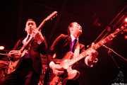 "Kazuya Tosa ""Mr. Lawdy"" -voz y guitarra- Takashi Manabe ""Mr. Pan"" -voz y guitarra- de The Neatbeats (Funtastic Dracula Carnival, Benidorm)"