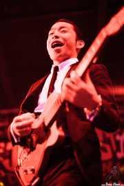 "Kazuya Tosa ""Mr. Lawdy"", cantante y guitarrista de The Neatbeats (Funtastic Dracula Carnival, Benidorm)"