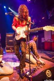 Joseba B. Lenoir, guitarrista de Sexty Sexers, Kafe Antzokia, Bilbao. 2013