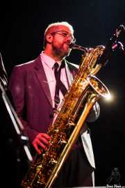 Nicolás Rodriguez-Jauregui, saxofonista de The Excitements, Kafe Antzokia, 2013