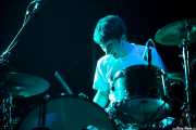 Lander Zalakain, baterista de Belako, , 2013