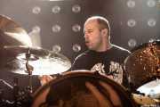 Galder Izagirre, baterista de Berri Txarrak, Kafe Antzokia, Bilbao. 2013